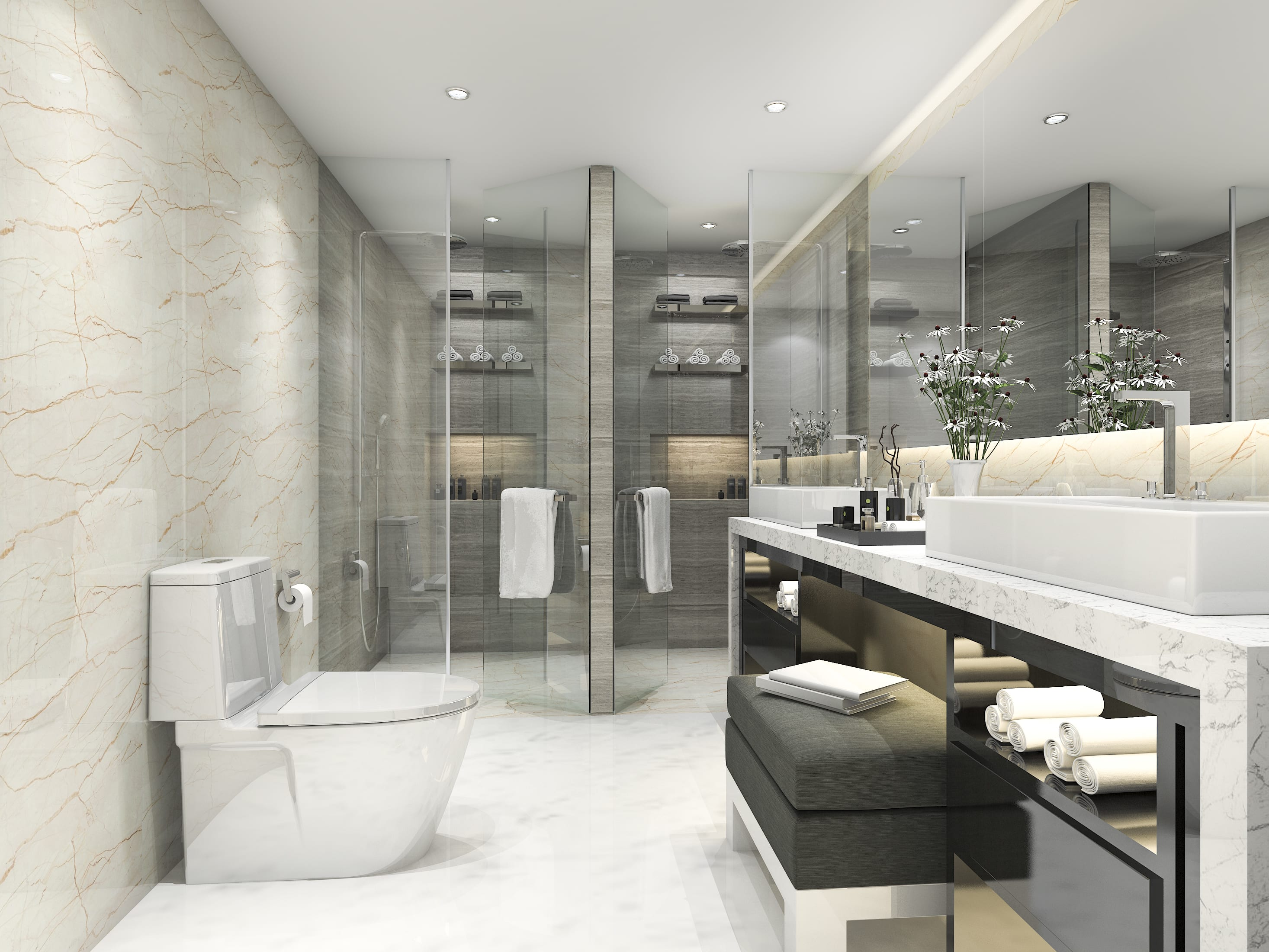 Design 3d Model And Render Your Bathroom Project By Architectgroup
