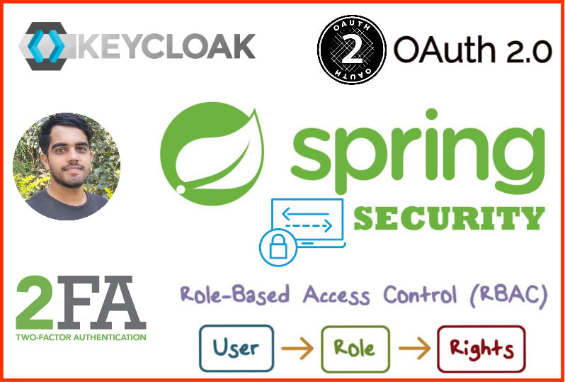 Implement spring security, keycloak
