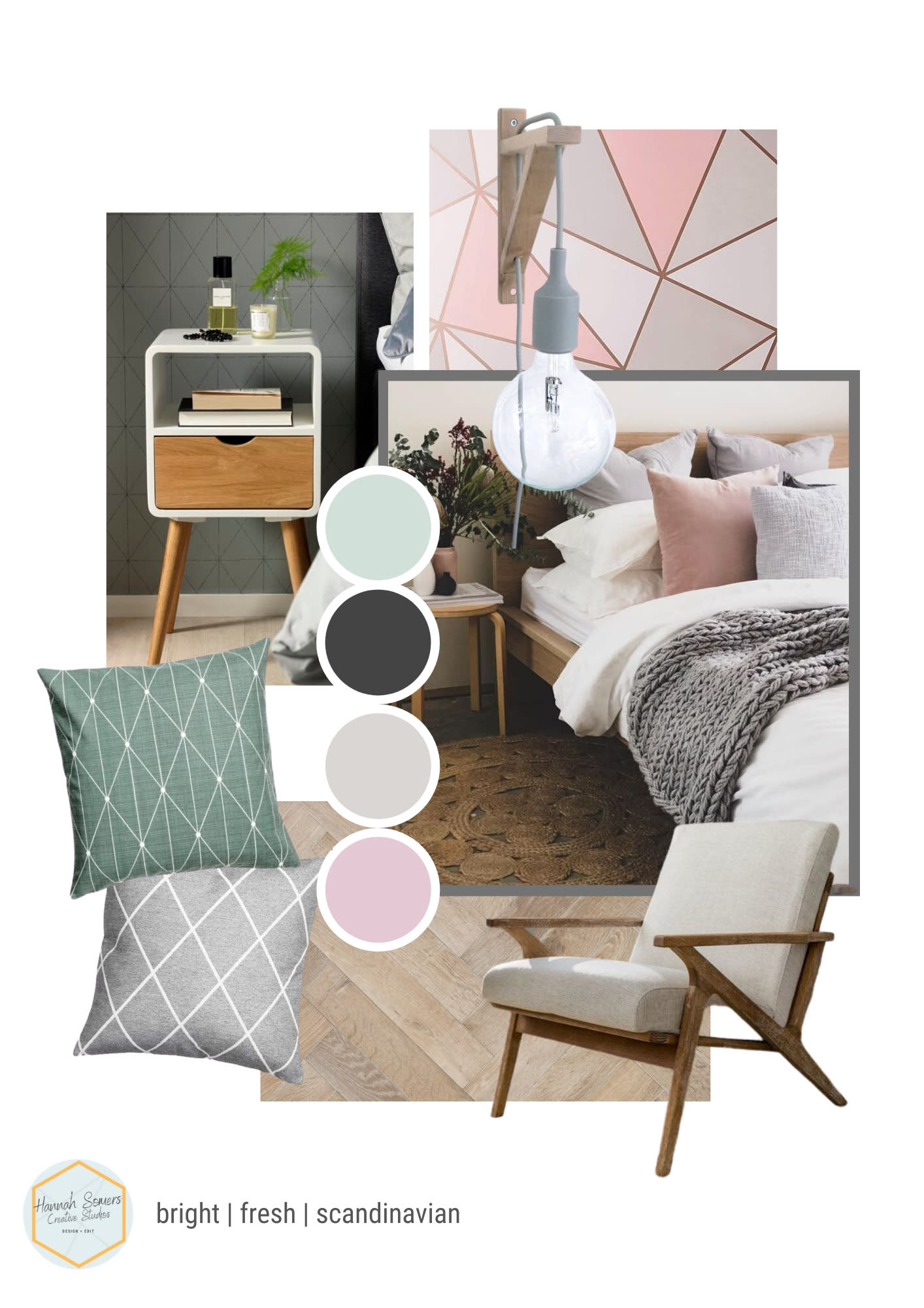 Create An Interior Design Mood Board For Your Room By Hannahsomerscs Fiverr