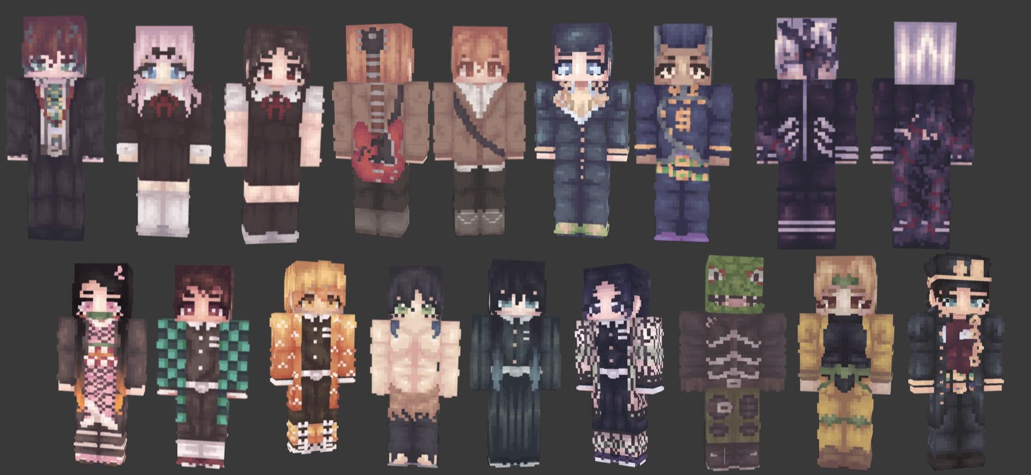 Make You A Custom 128x128 Minecraft Skin By Higashikata