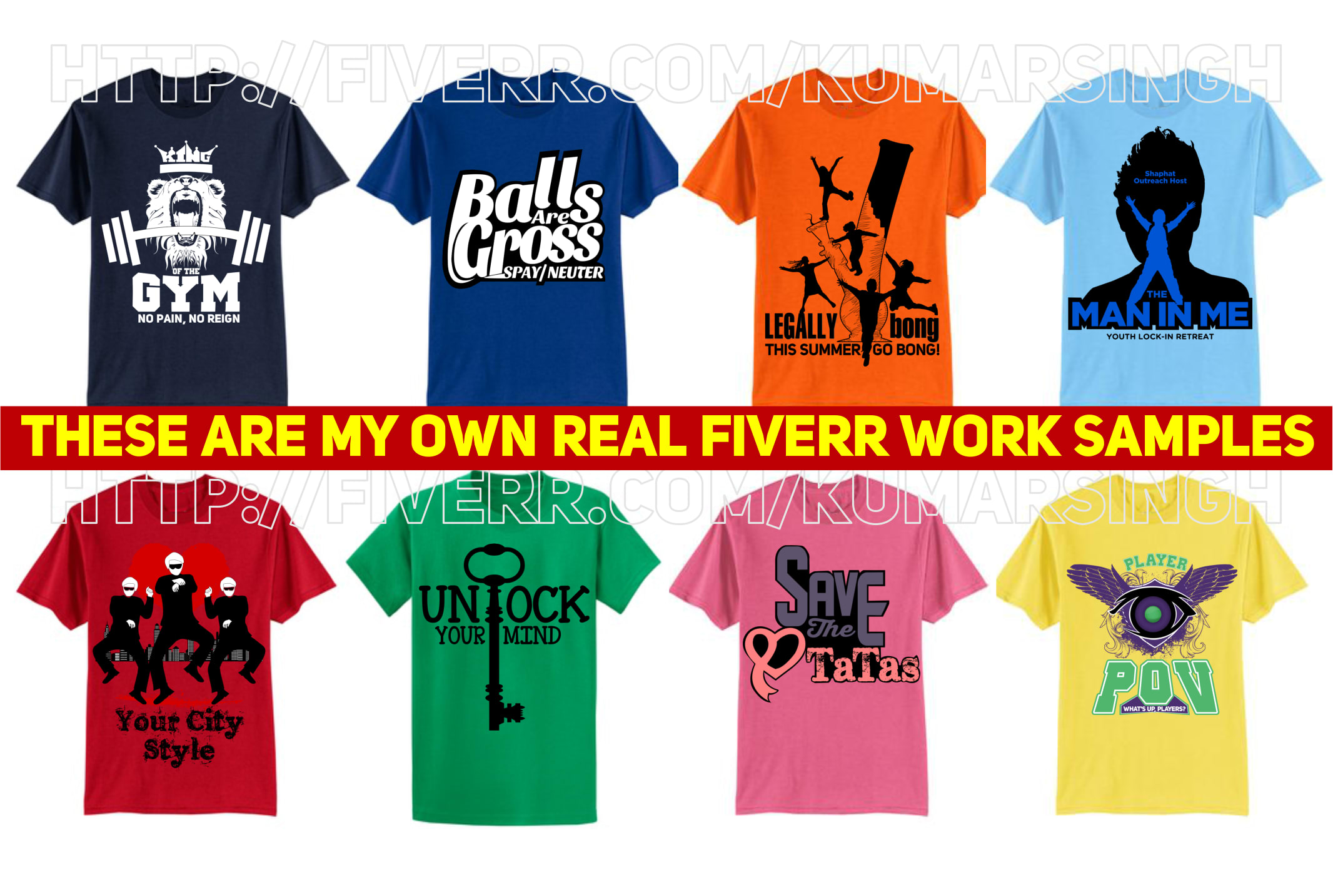 Create Awesome Graphic Tshirt Design By Kumarsingh