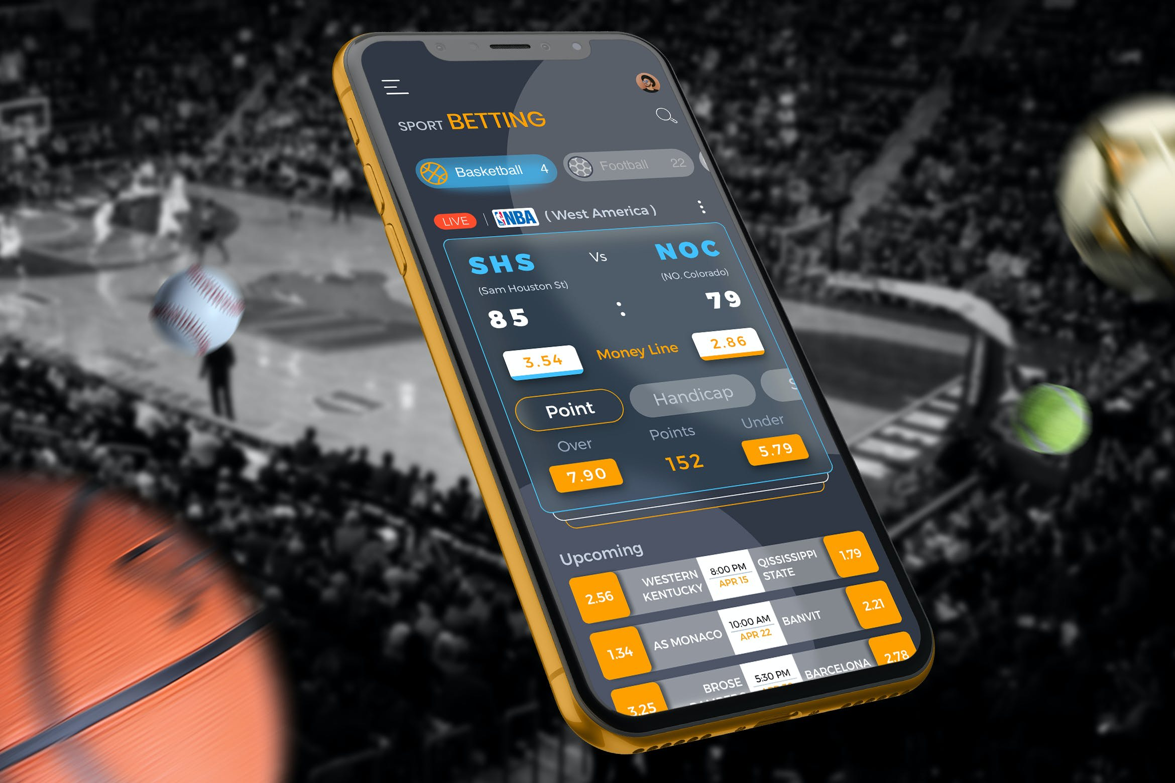 Sport beting app and web, crypto sport betting app and web by Roycharles3 |  Fiverr