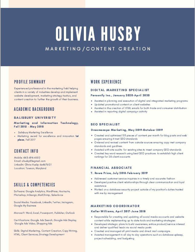 Resume writing services price