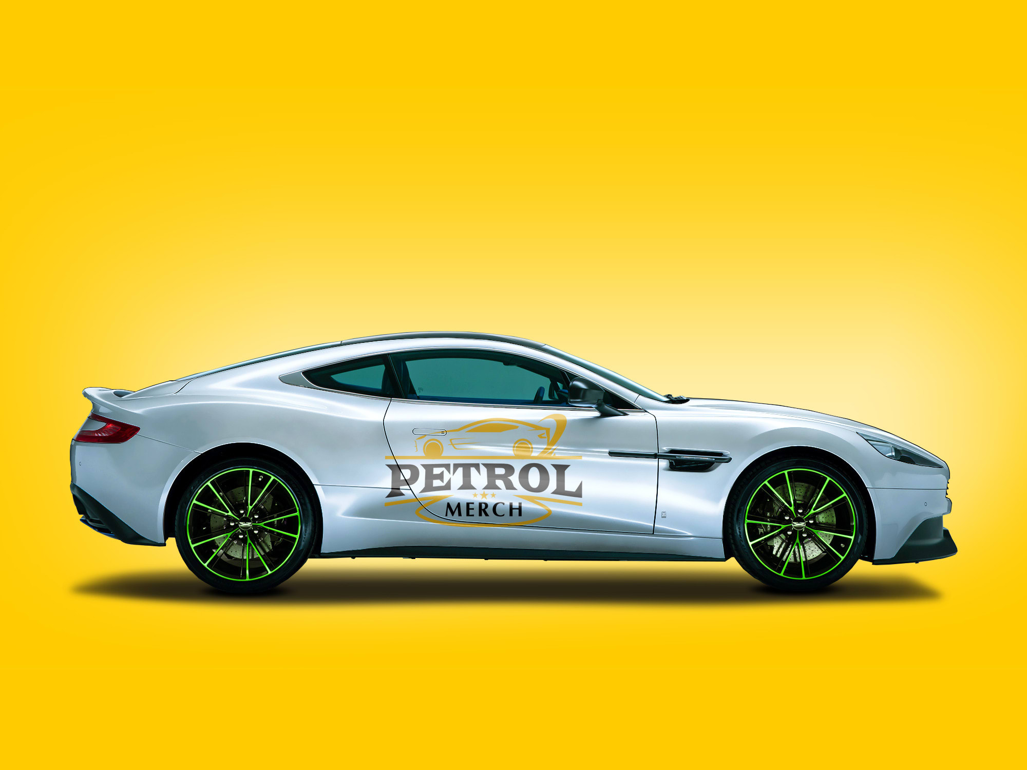 Make A Mockup Of Your Logo On Aston Martin By Crisss91 Fiverr