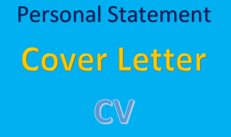 Cv Cover Letter And Personal Statement