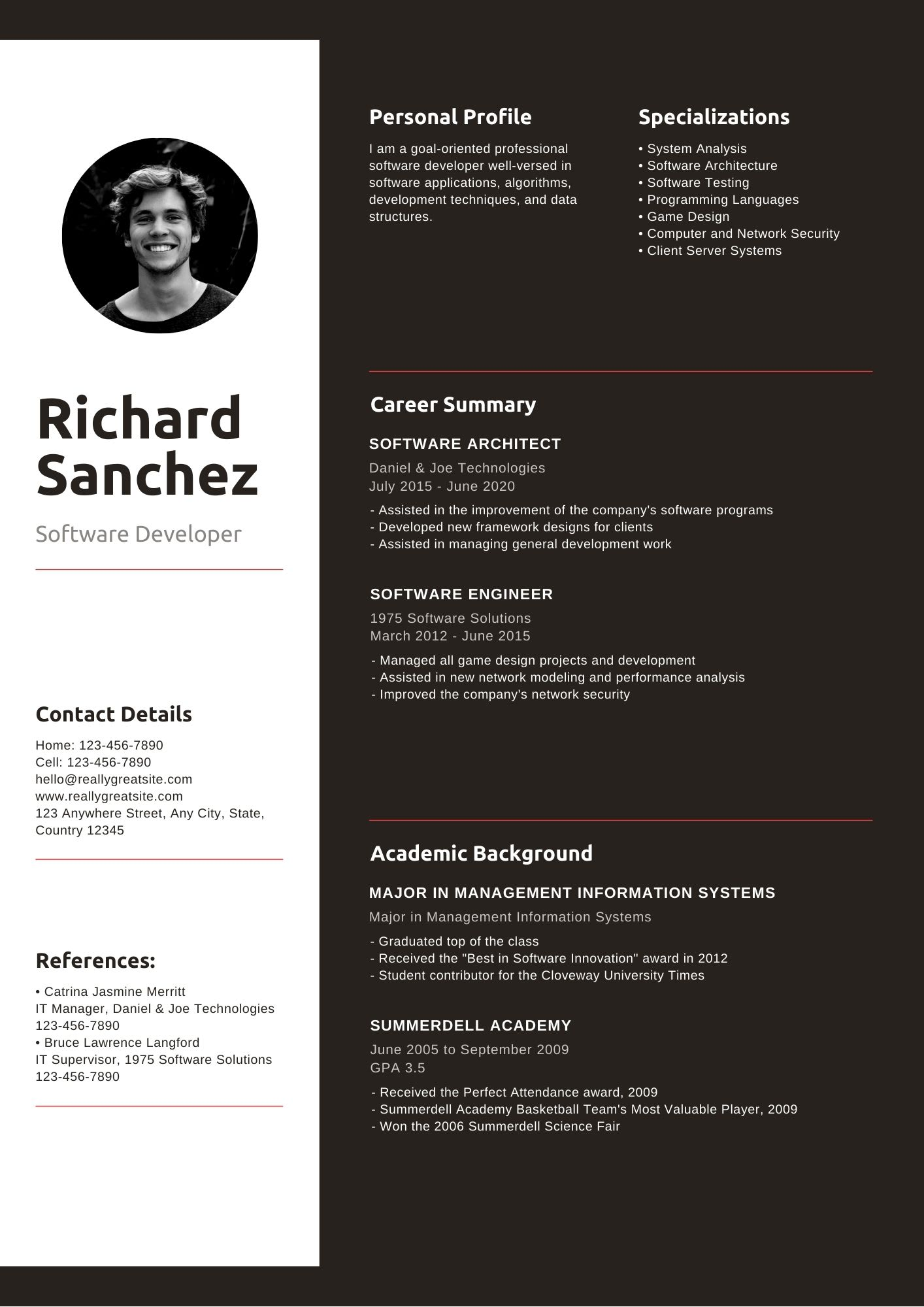 Design A 3 Professional Resume Cover Letter Template By Paulsprejan Fiverr
