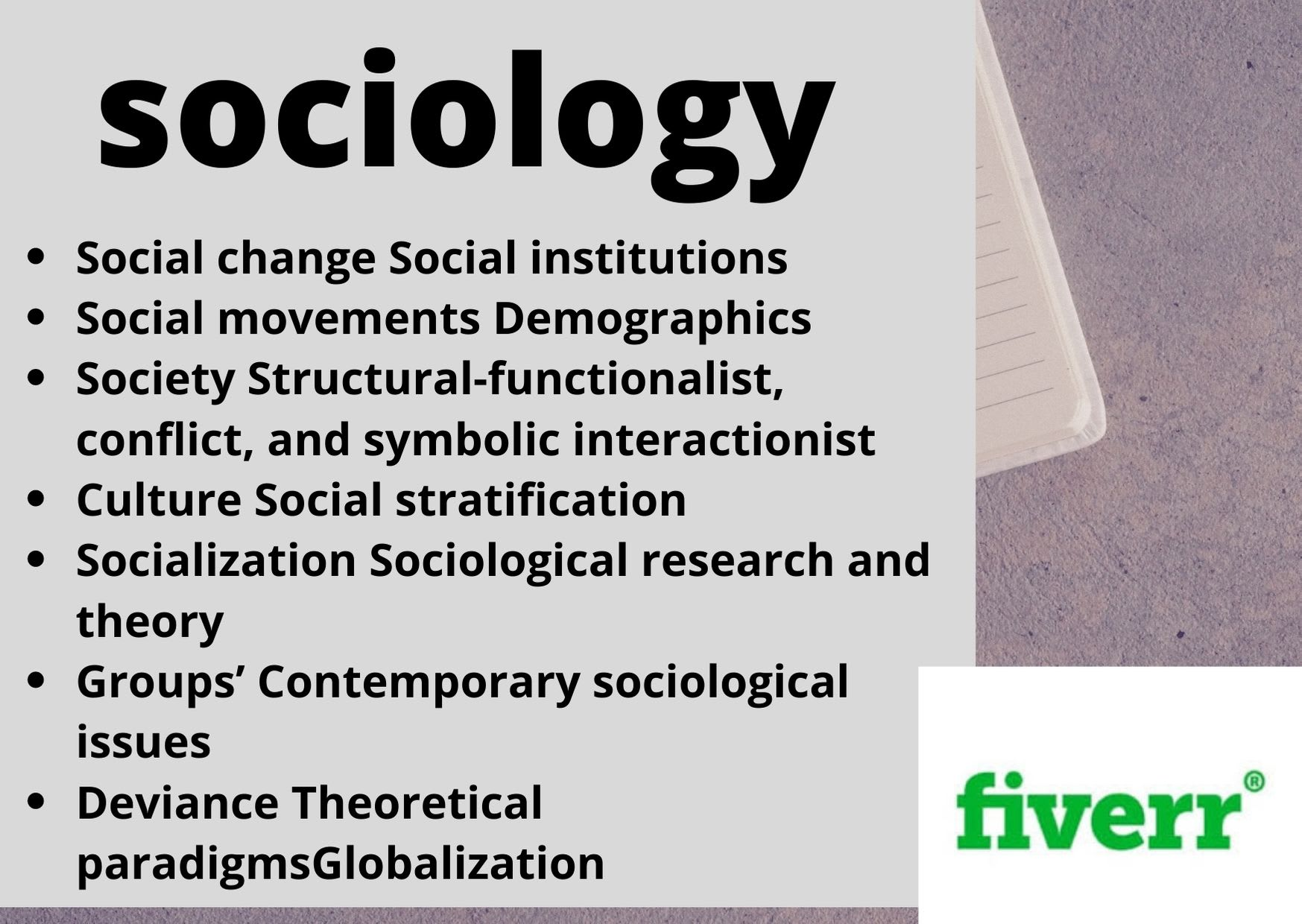 On sociology papers Sociology Research