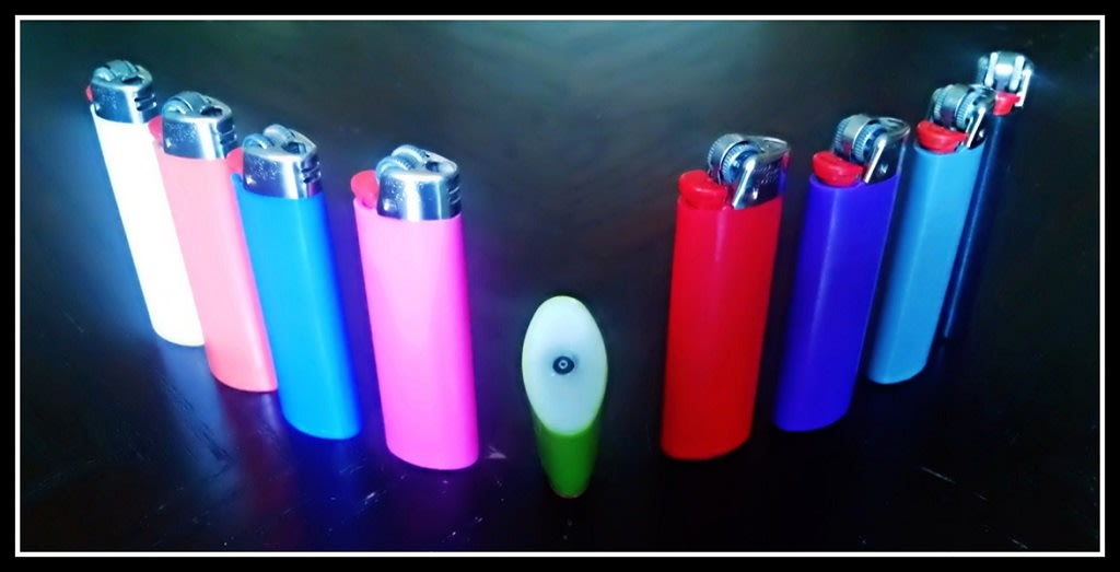 make you a custom refillable bic lighter with refill valve