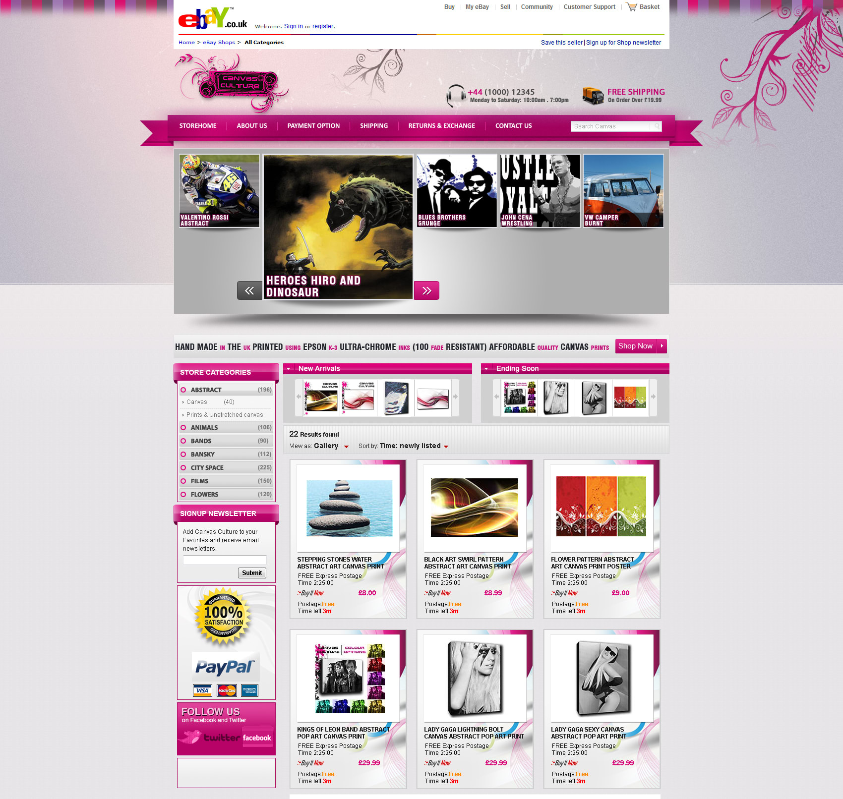 Create Your Ebay Selling Page Template By Wasimalik