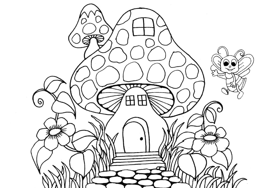 Draw Coloring Book Page For Children By Nisha Arts Fiverr
