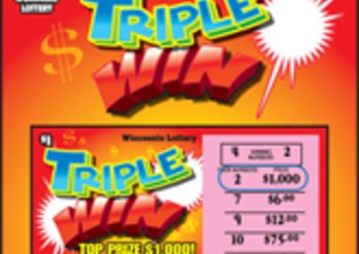 send you 3 different wisconsin lottery scratch off tickets