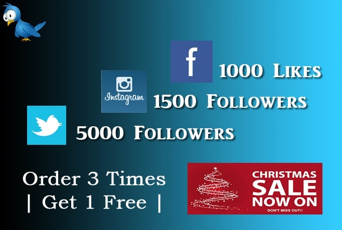 get 5000 followers on twitter for free