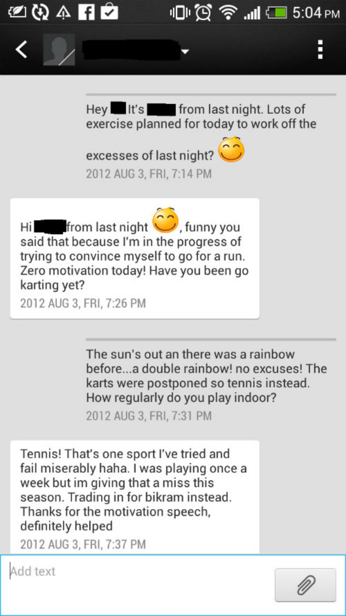 Girl at a night text what to How to
