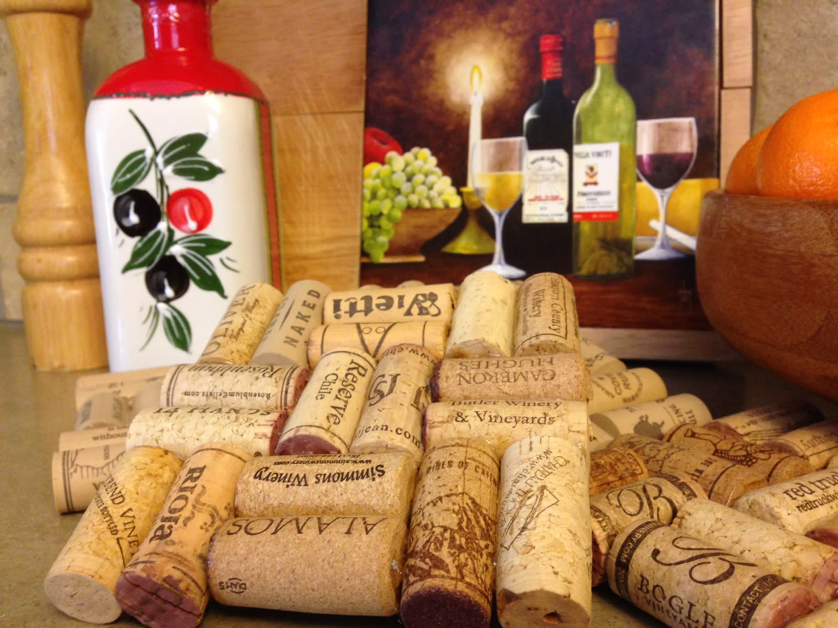 Make A Trivet Coaster Out Of Wine Corks By Arieas