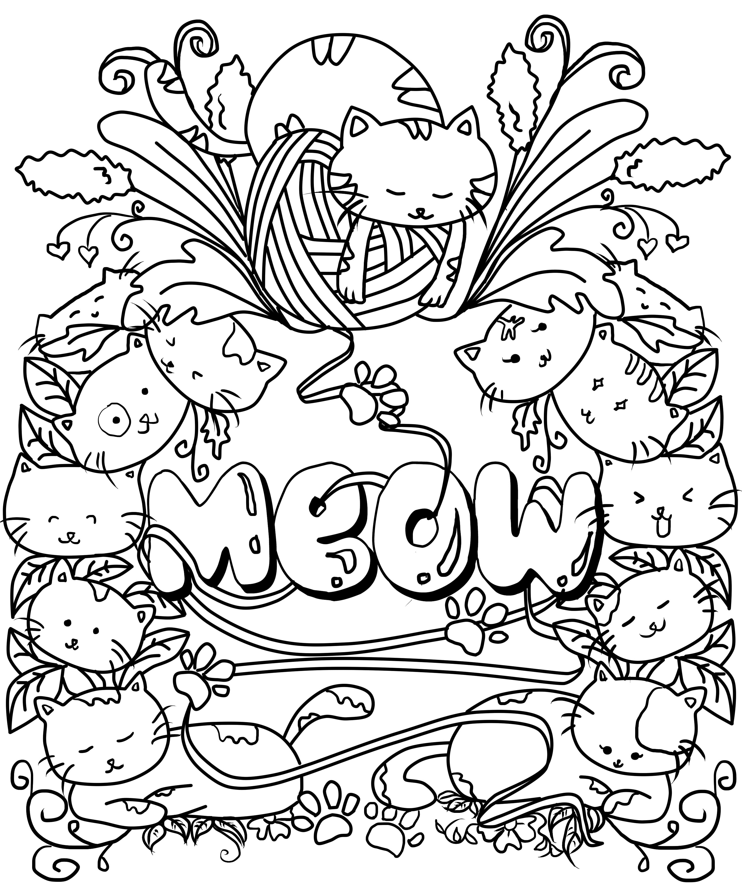 - Draw Coloring Book Designs By Ninjacat_28