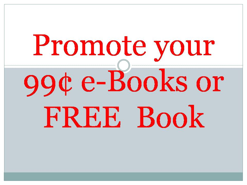 promote your 99c bargain or free ebook to 9 million real kindle  reader,promotion