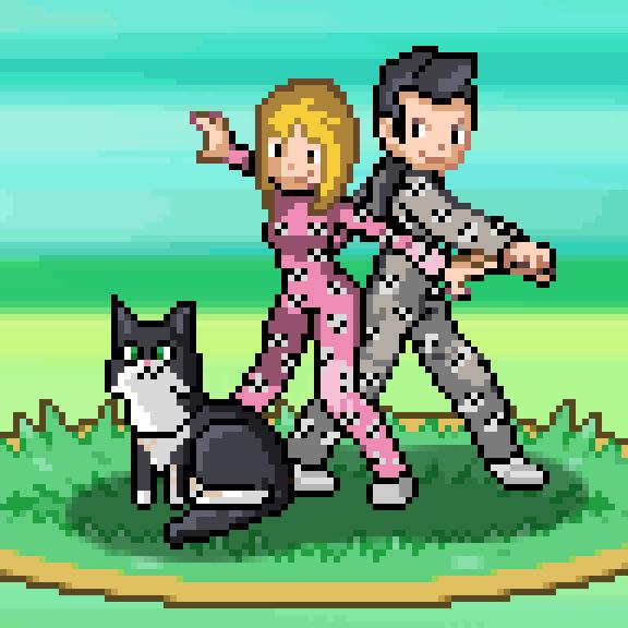 Make You A Pixel Art Pokemon Trainer By Risingvexx