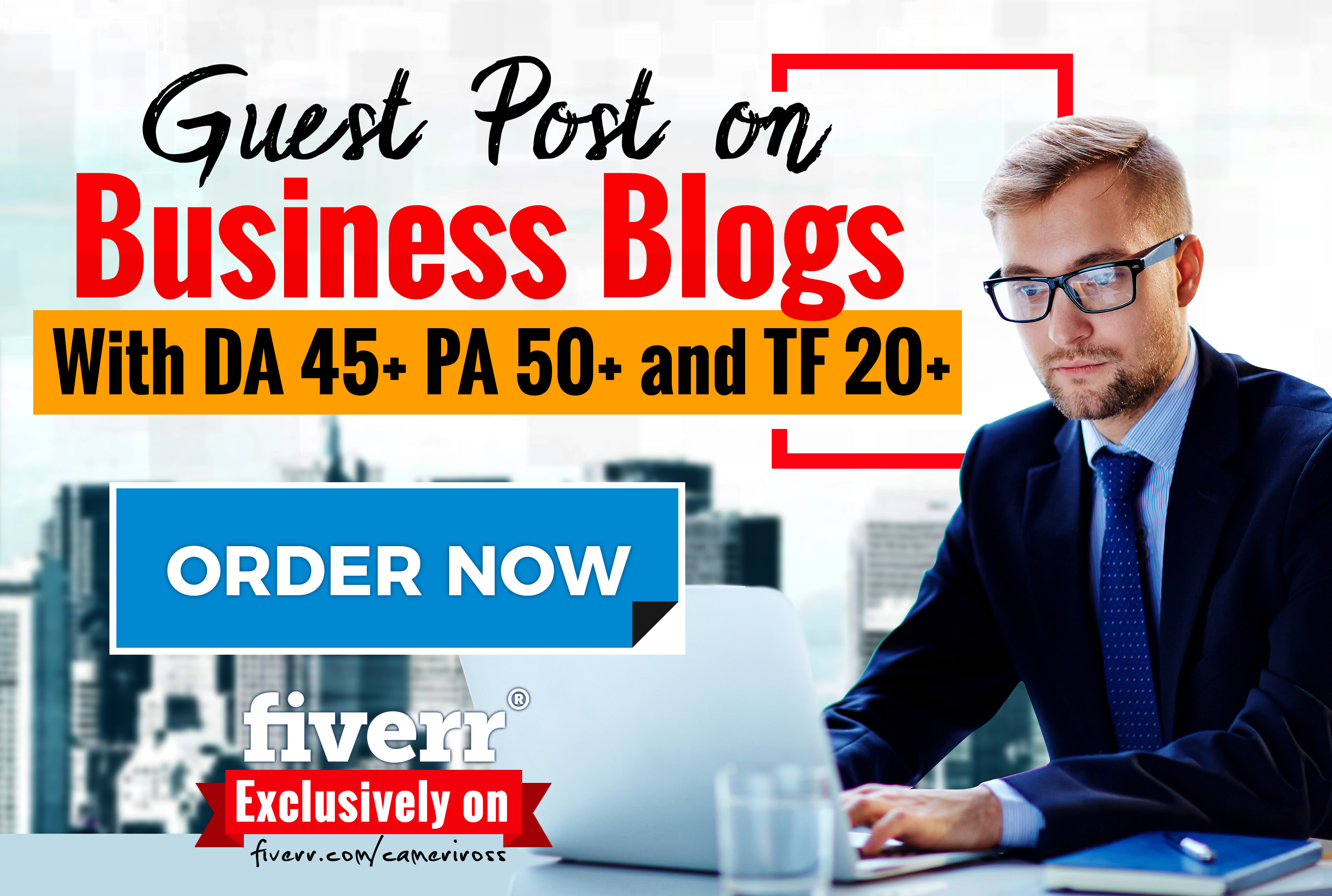 do guest posting in da 45 business blog