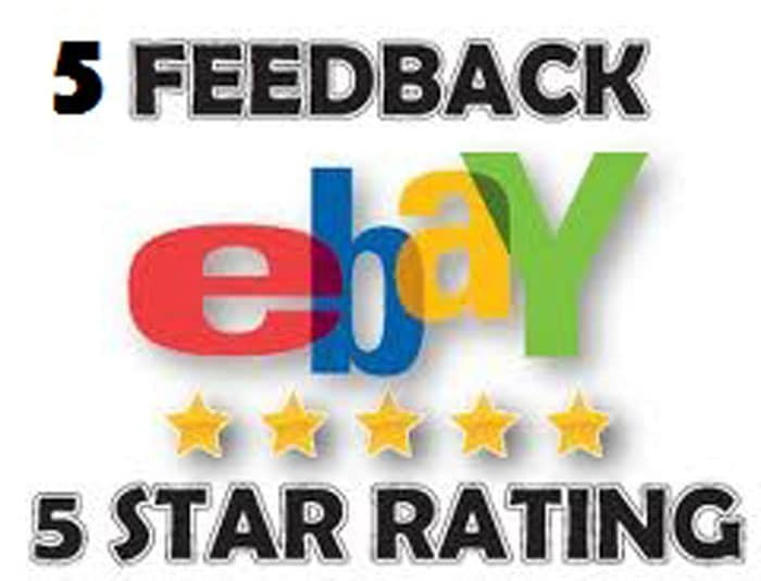 Leave 5 Uk Ebay Positive Feedback 5 Star Detailed Seller Ratings By Bijanca