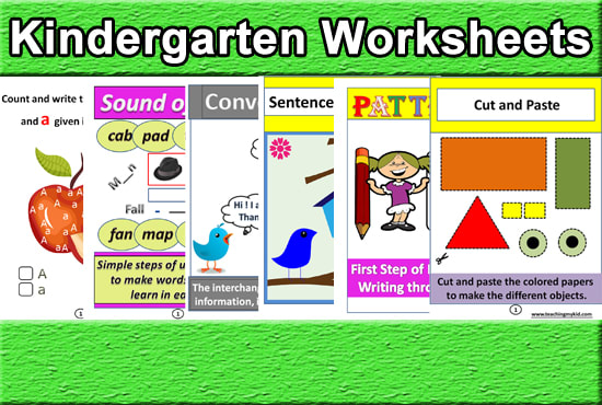 Give You 187 English Worksheets For 3 To 5 Yr Old Kids By Goldfishsoftwar  Fiverr