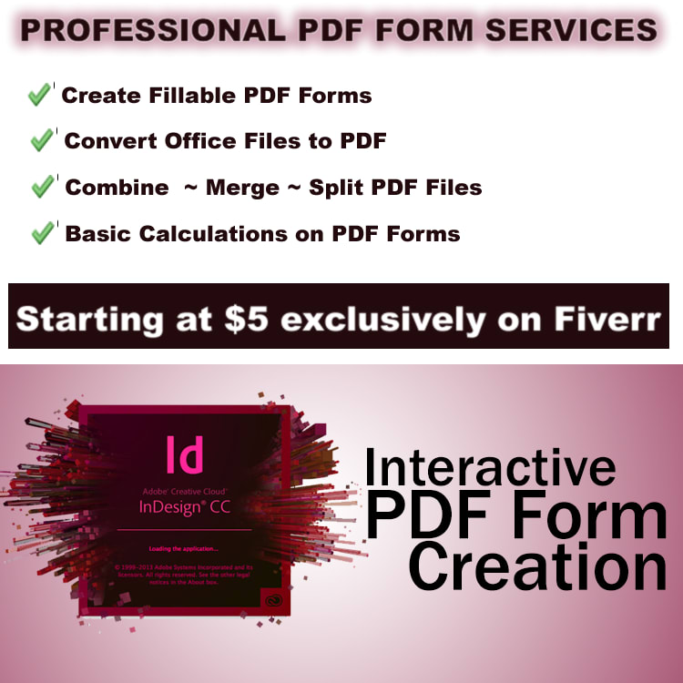 create fillable PDF forms for your company, 3 pages