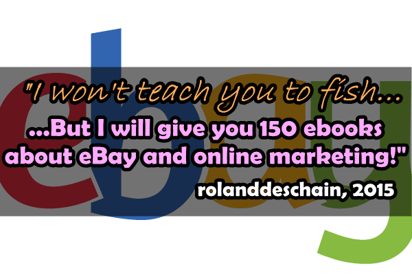 Send You 150 Ebooks About Ebay Business And Online Marketing By Rolanddeschain