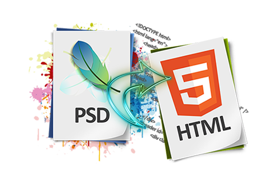 Convert Psd To Responsive Html By Muhammadrussell