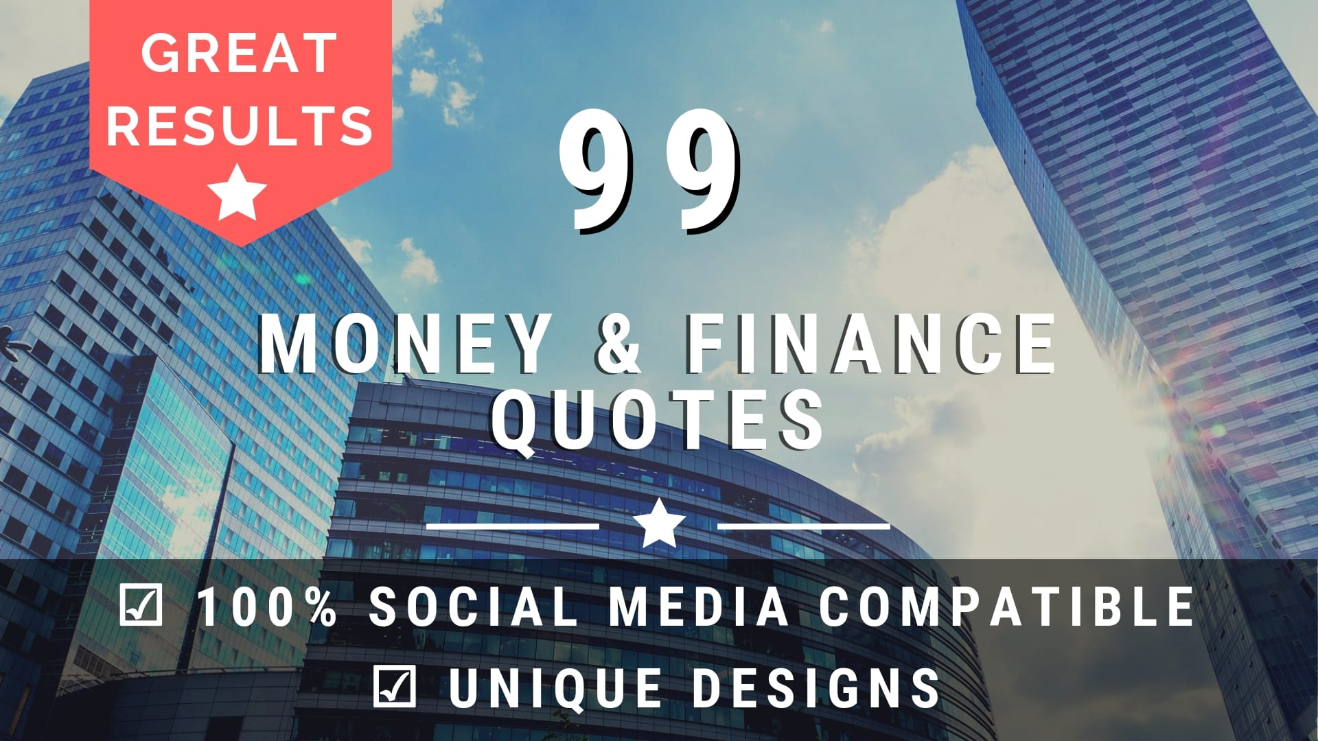 Design 99 Money And Finance Image Quotes With Your Logo By Stepanadrian