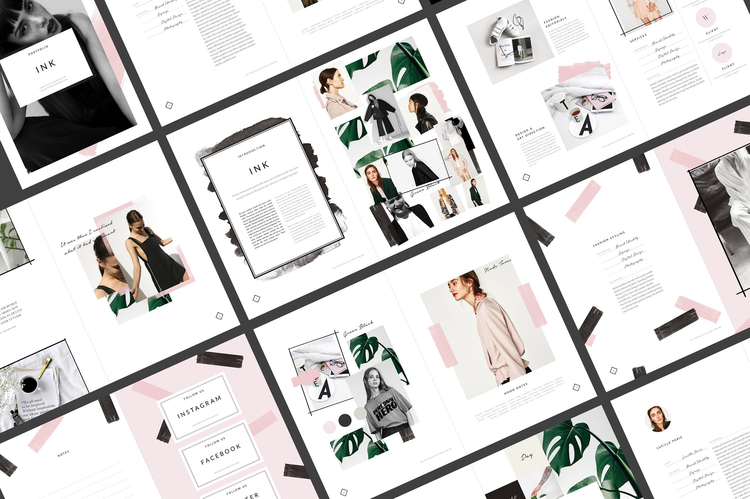 Create Outstanding Fashion Moodboards By Chandnipatel14