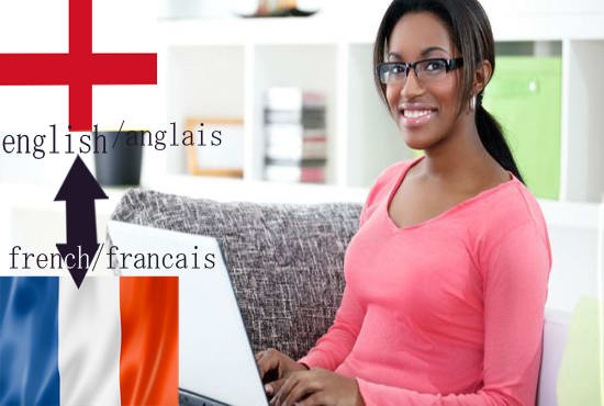 Provide An Impeccable English French Translation For You By Content Written