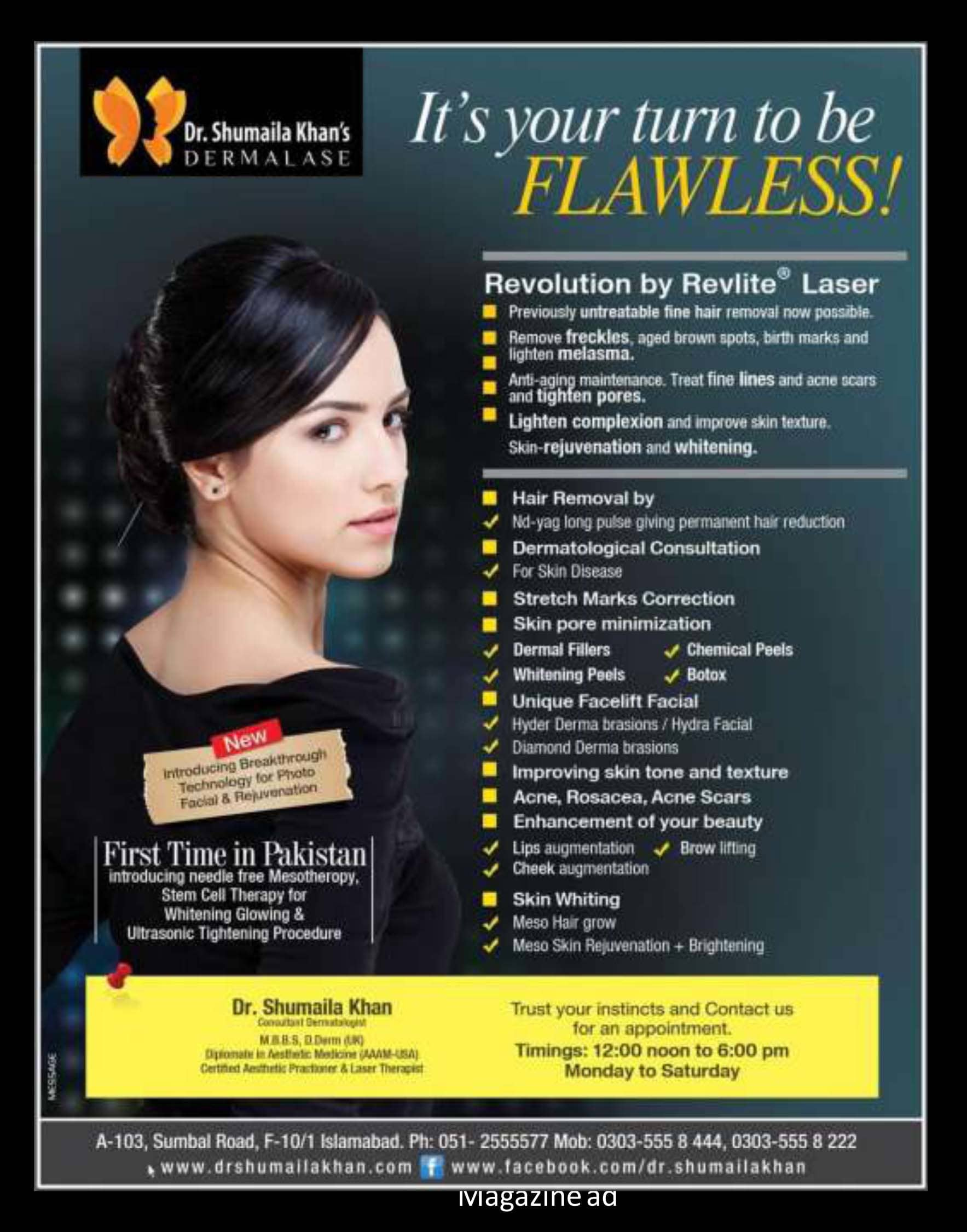 Design Attractive Beauty Salon Flyer By Atifwaheed233