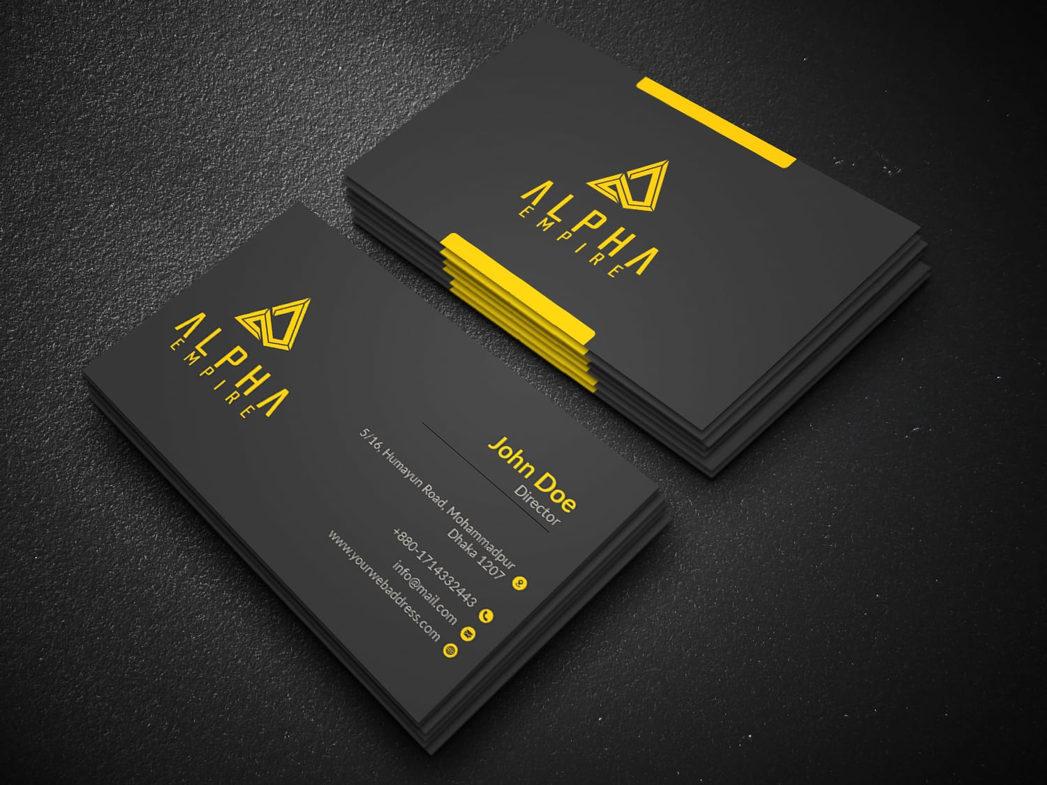 Design Stunning Business Cards Within 24 Hours By Albert92