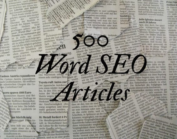 Write High Quality 500 Word Seo Article On Any Topic By Konnapap