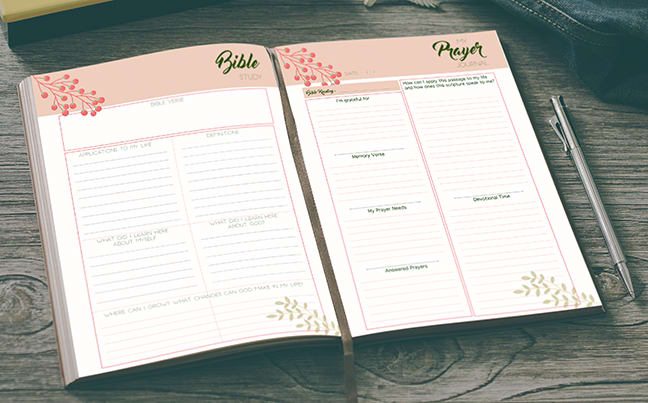 It is a picture of Free Printable Prayer Journal Pdf throughout battle plan for prayer