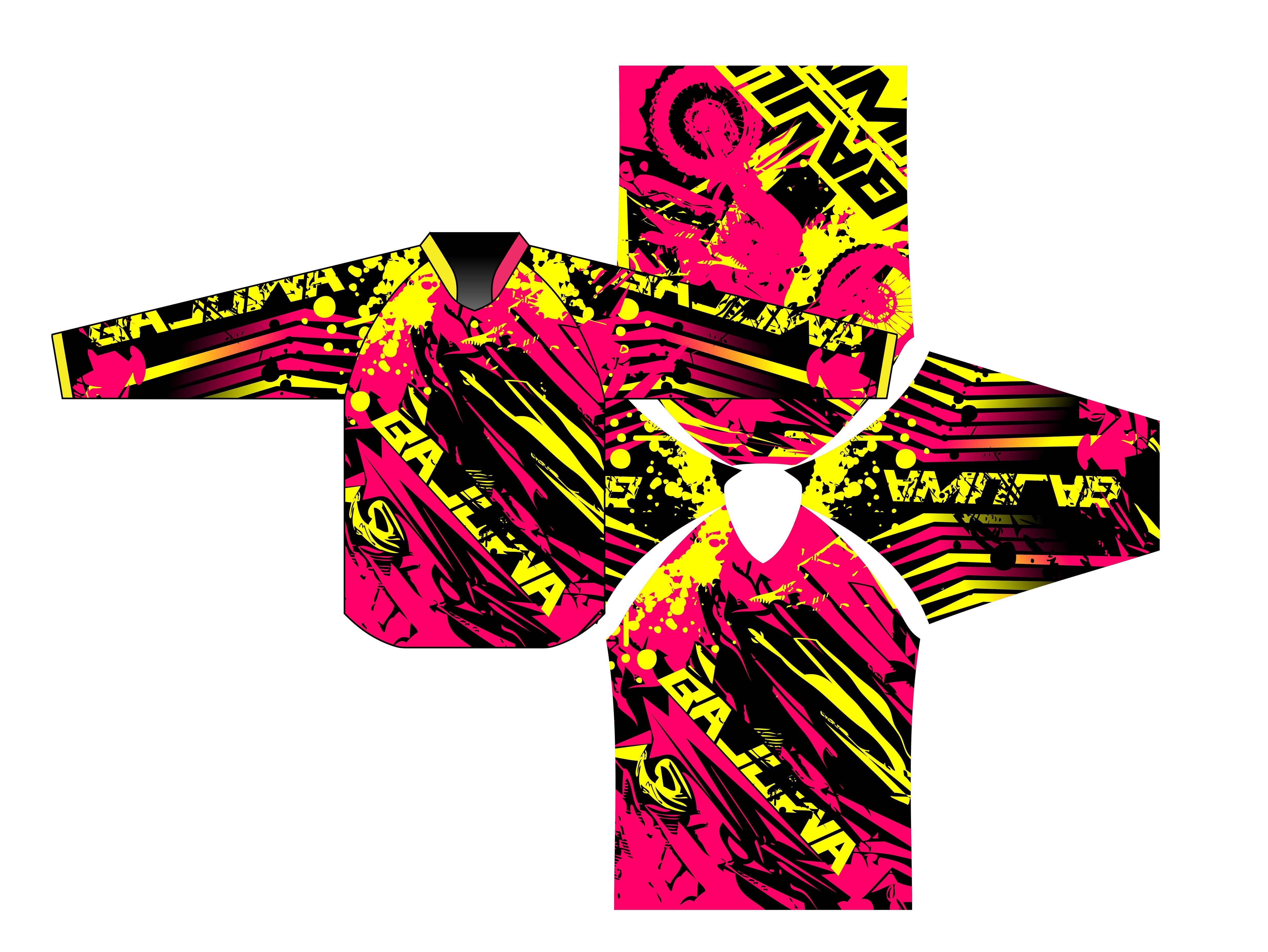 Make Motocross Jersey Design By Alibajuwa