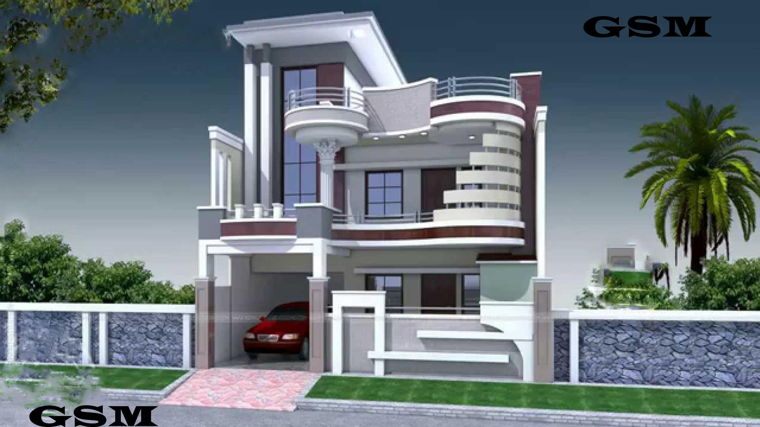 3d Modal Building Complete Design Home Building Projects Front Design By Muhammedsajed