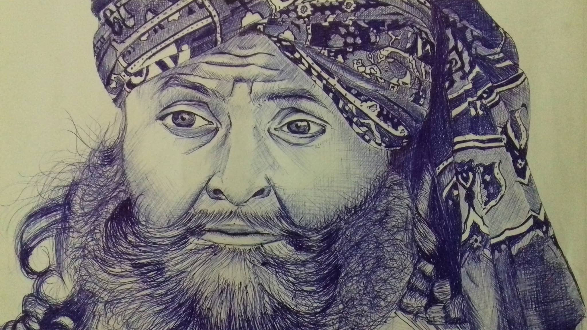 I will change your portrait into ballpoint pen or pencil sketch