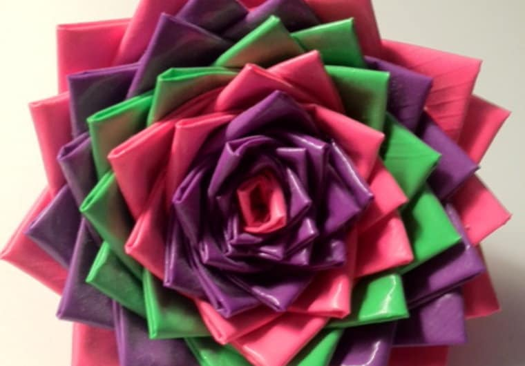 Make You A Duct Tape Flower Pen By Jenni429