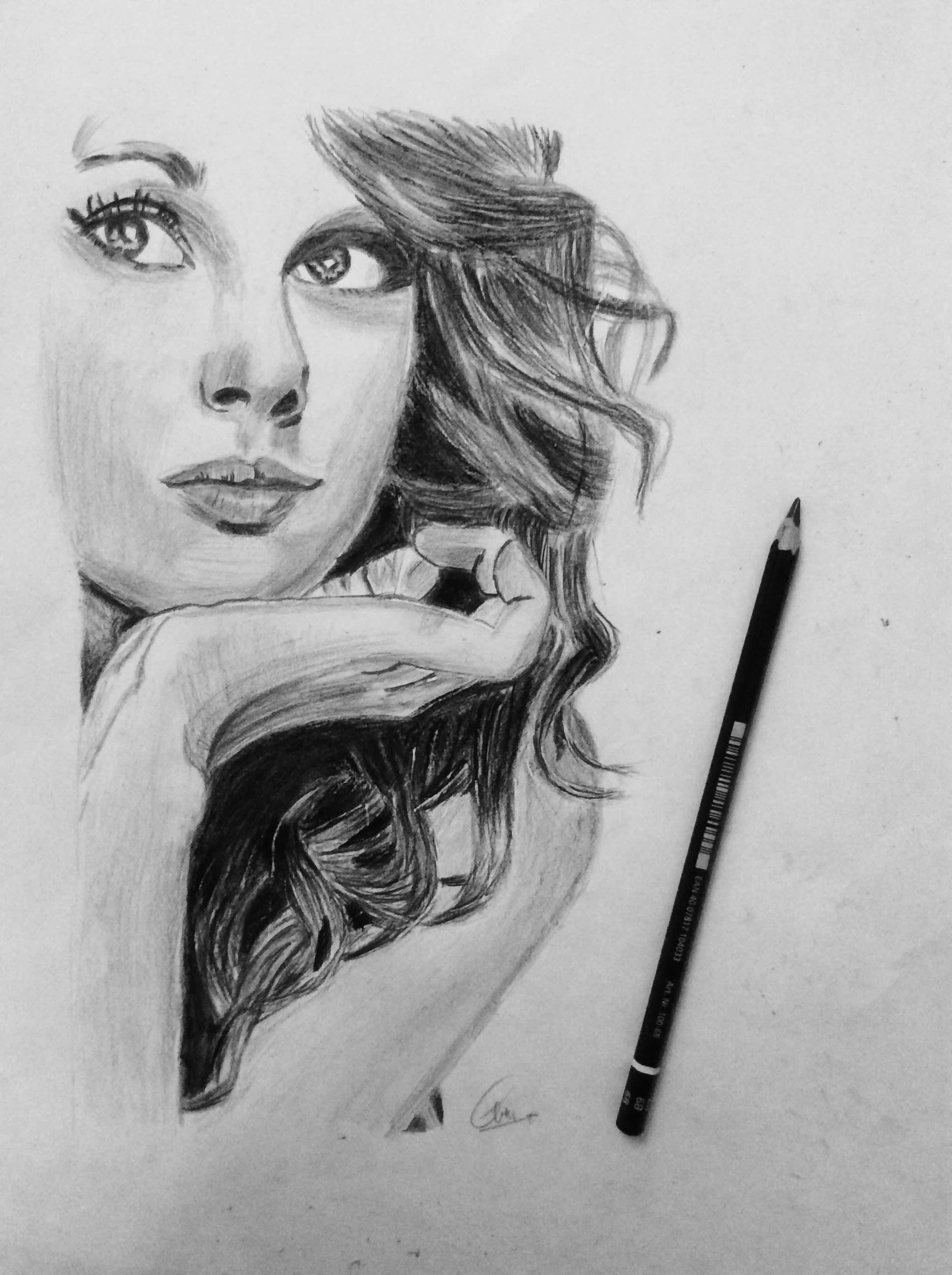 Turn your photo into a hand drawn charcoal sketch by abhibavishi