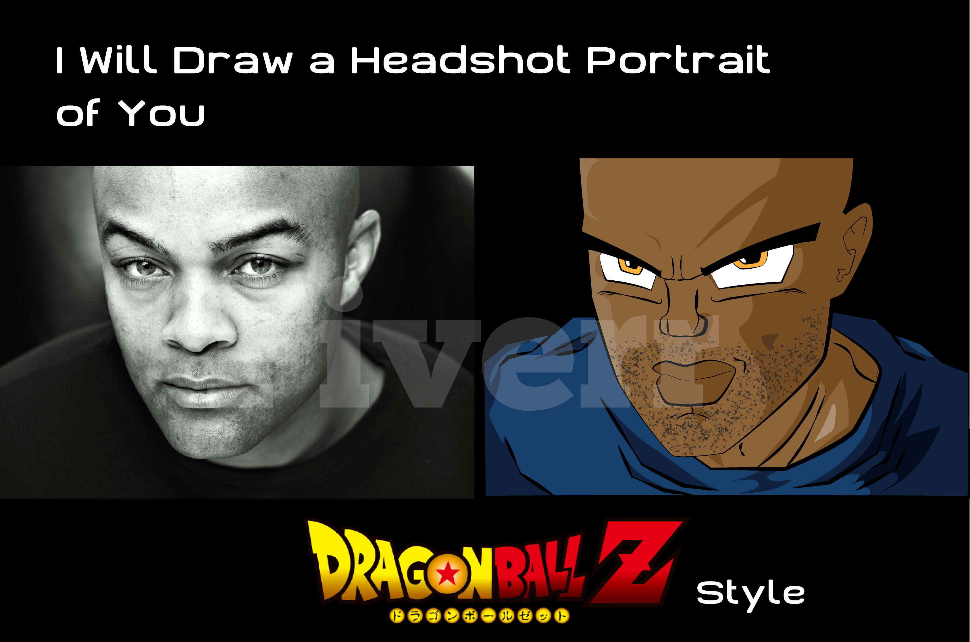 Draw A Headshot Portrait Dragon Z Style Contact Me Before By Jonathancg24