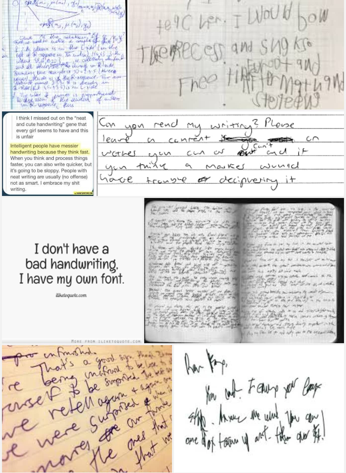 Type Up Your Handwritten Notes By Breedvl