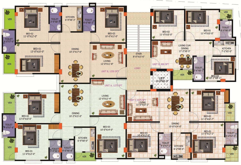 Ploor Plan Brochure By Constant Saif