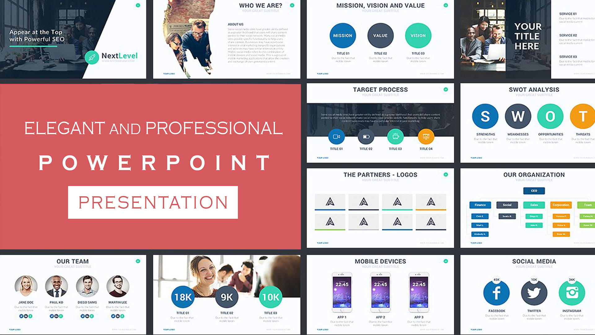 Design elegant and professional powerpoint presentation by ...