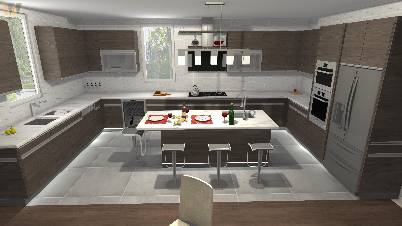 Make A 3d Kitchen Design By Svabic
