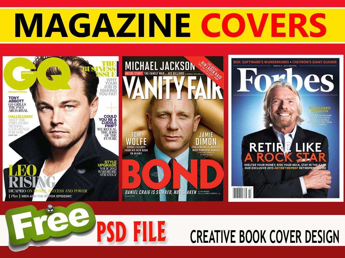 Design Magazine And Ebook Cover Page By Ruwanprasanga