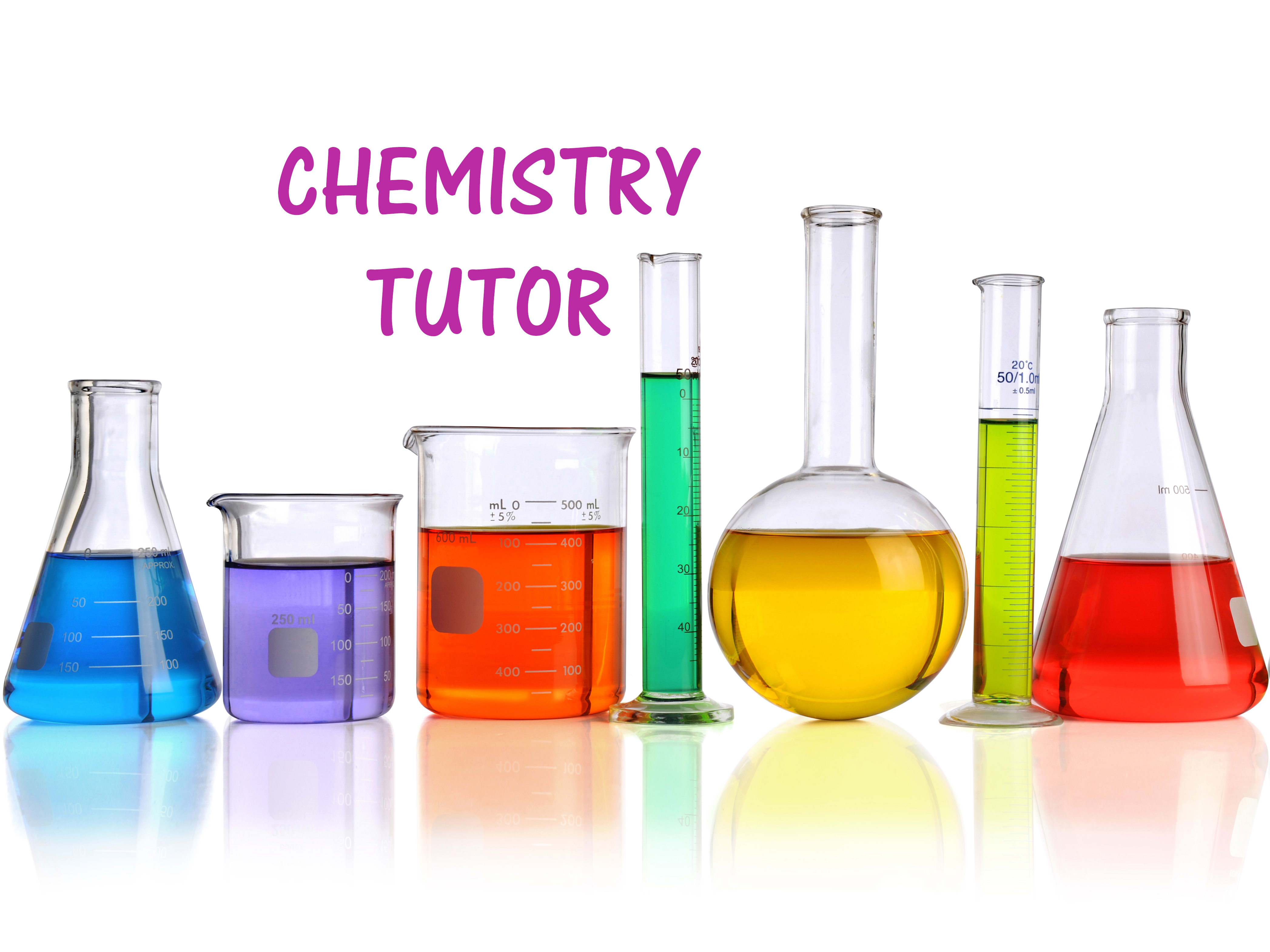 Be your chemistry tutor online by Syther | Fiverr