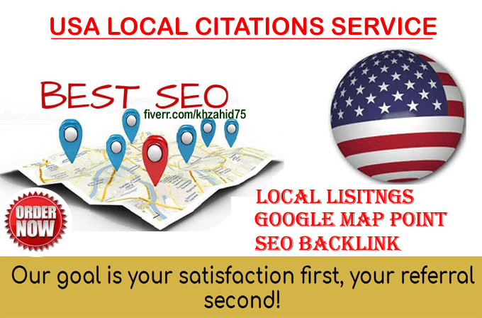 Do Local Listings With Map Citations For Usa Business By Khzahid75
