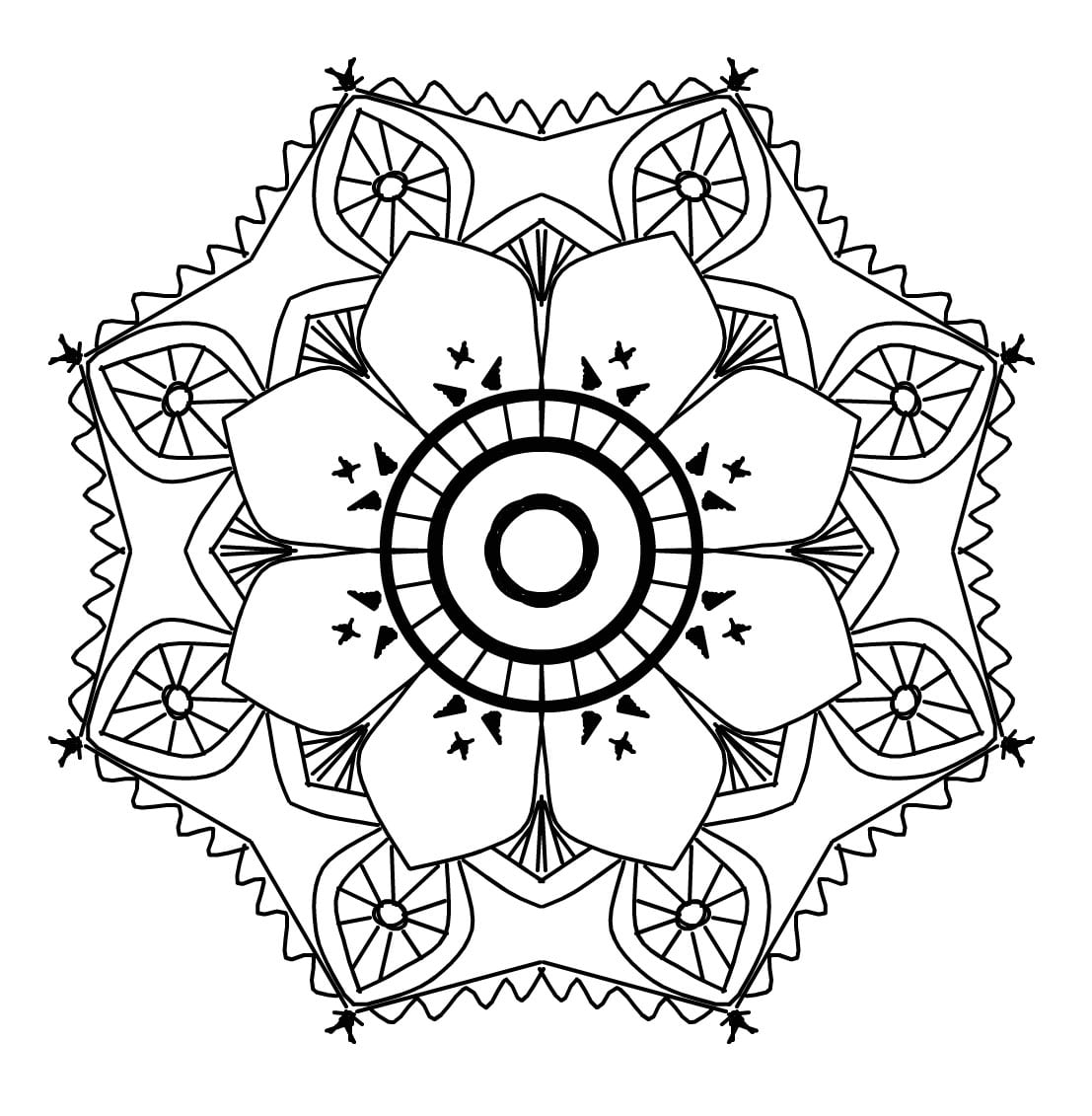 - Give You 50 Printable Awesome Mandala Coloring Book Pages By Mybayceo