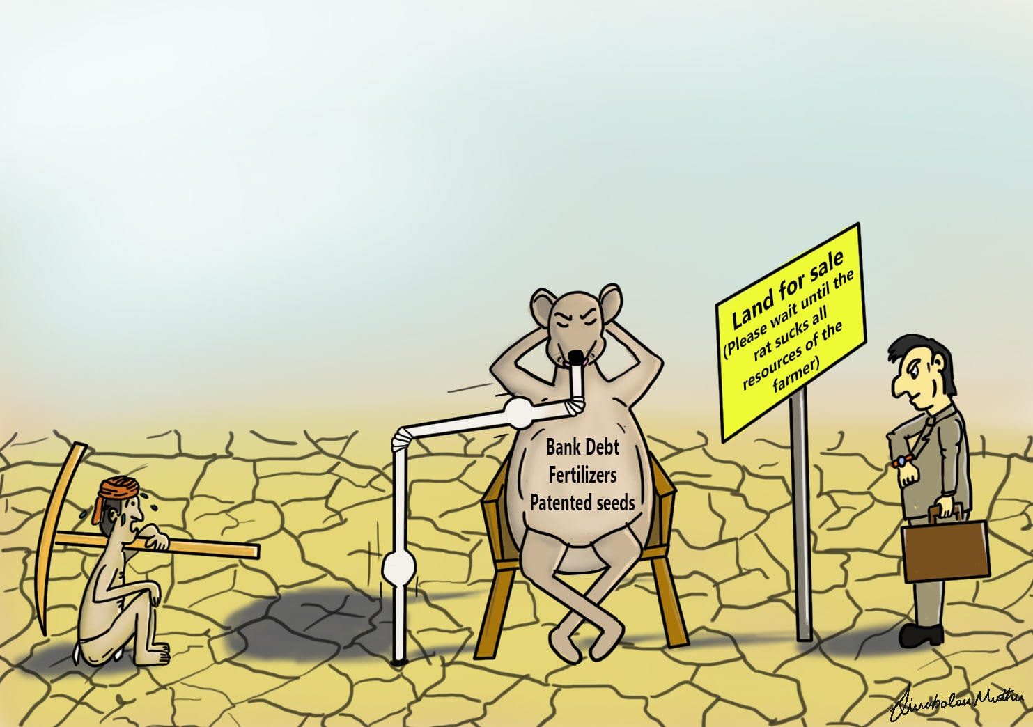 Draw Satire And Political Cartoons By Sivabalanmuthu