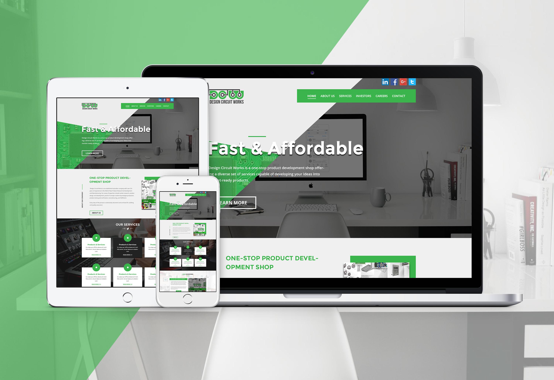 Design Creative Website Mockup By Husainmill53